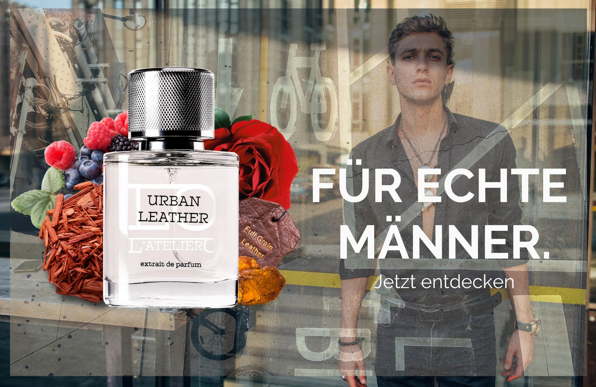 Urban Leather - Der Duft für echte Männer